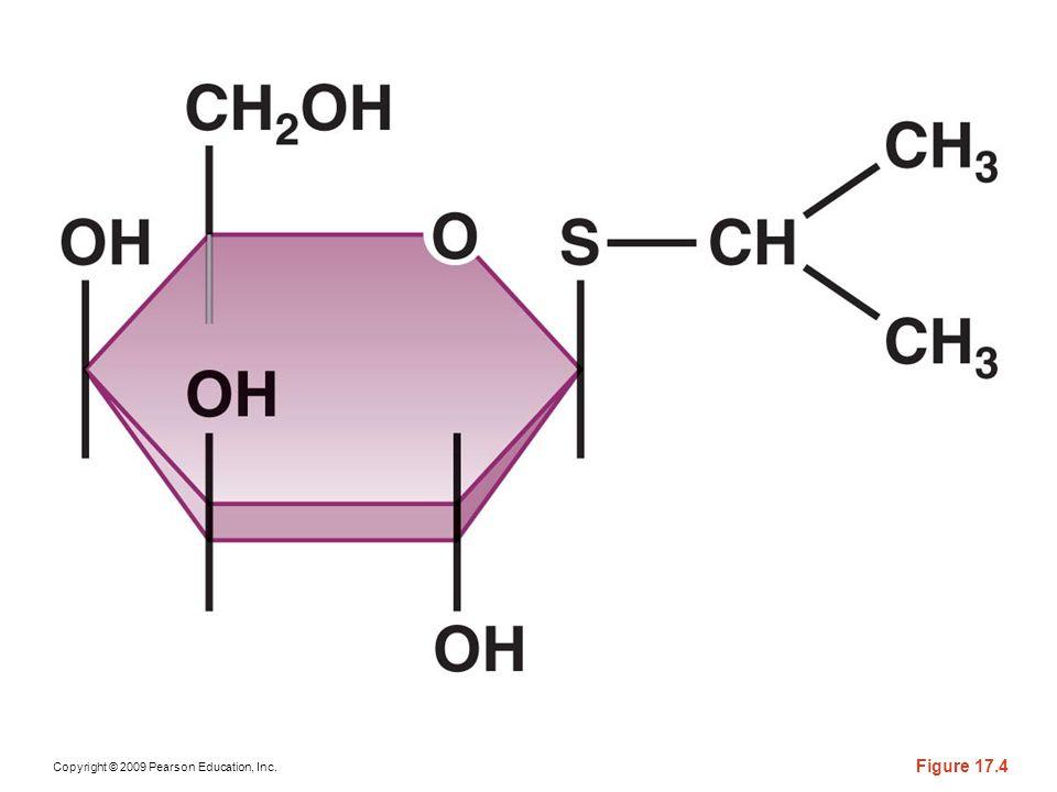 Figure 17-4 The gratuitous inducer isopropylthiogalactoside (IPTG).
