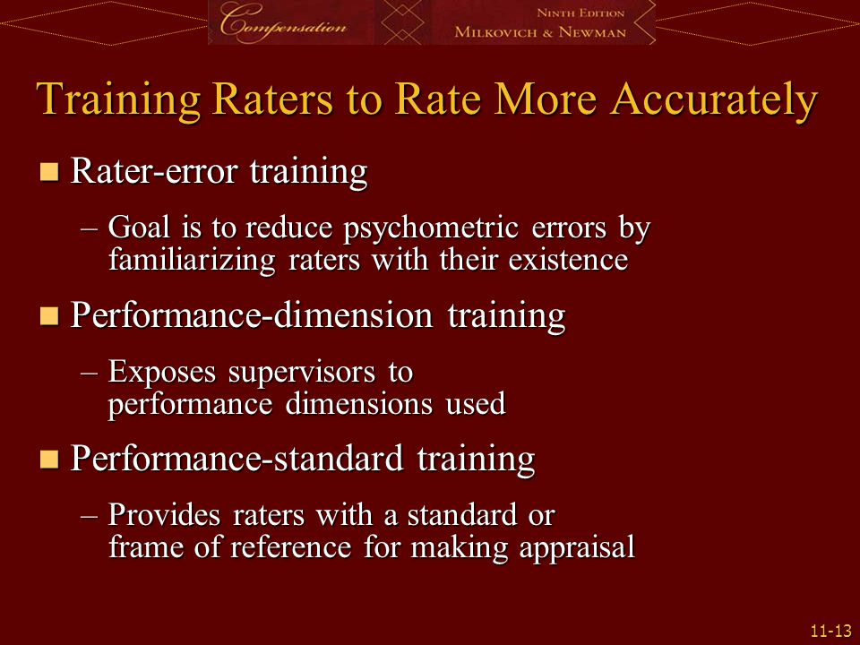 Training Raters to Rate More Accurately