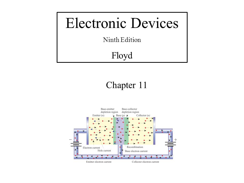 Electronic Devices Ninth Edition Floyd Chapter 11