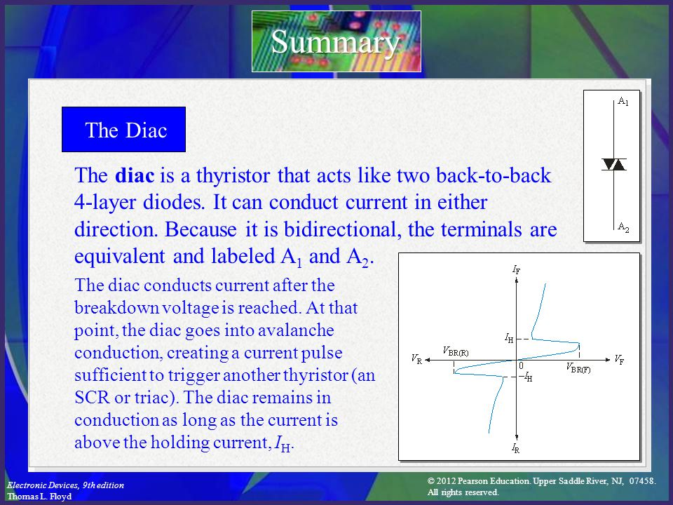 Summary The Diac.