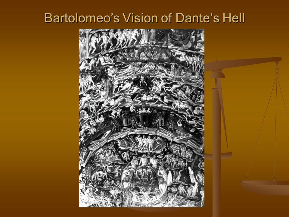 Bartolomeo's Vision of Dante's Hell