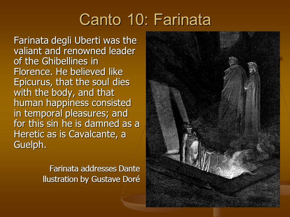 Canto 10: Farinata
