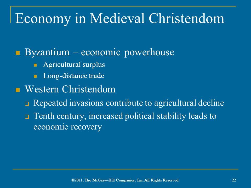Economy in Medieval Christendom