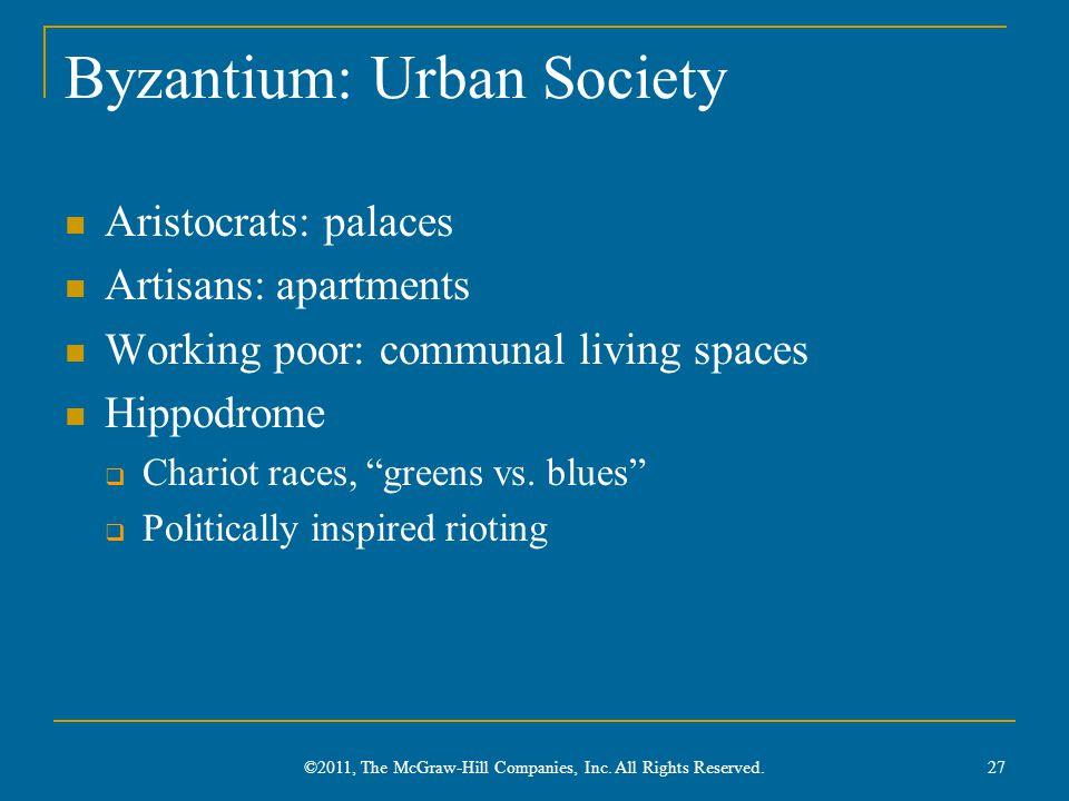 Byzantium: Urban Society