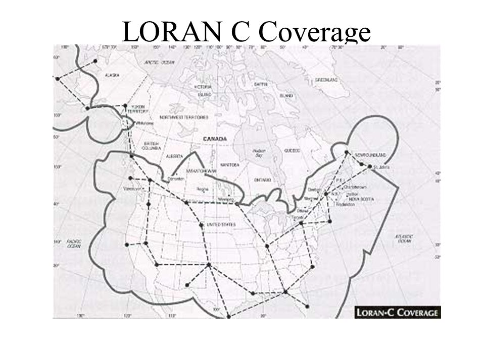 LORAN C Coverage
