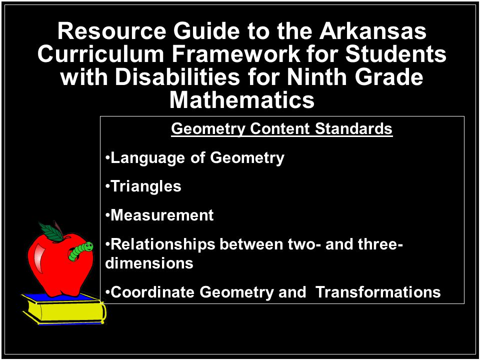 Geometry Content Standards