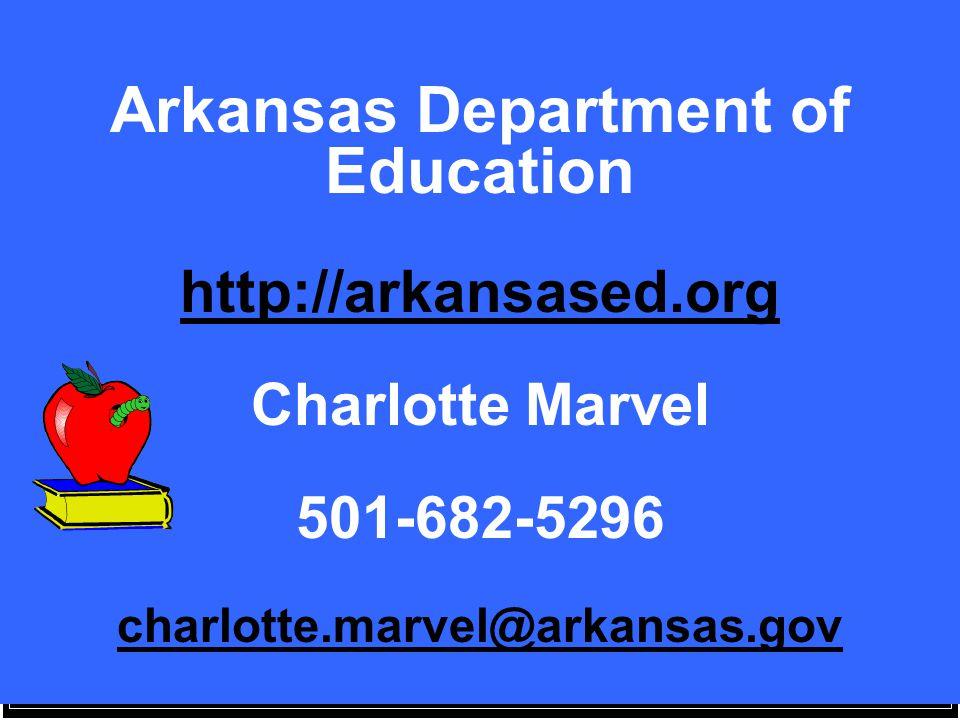 Arkansas Department of Education http://arkansased