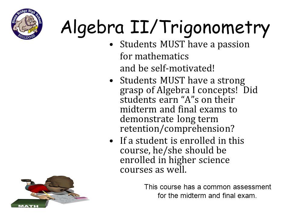 Algebra II/Trigonometry