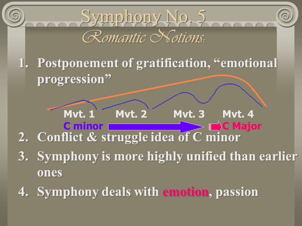 Symphony No. 5 Romantic Notions: