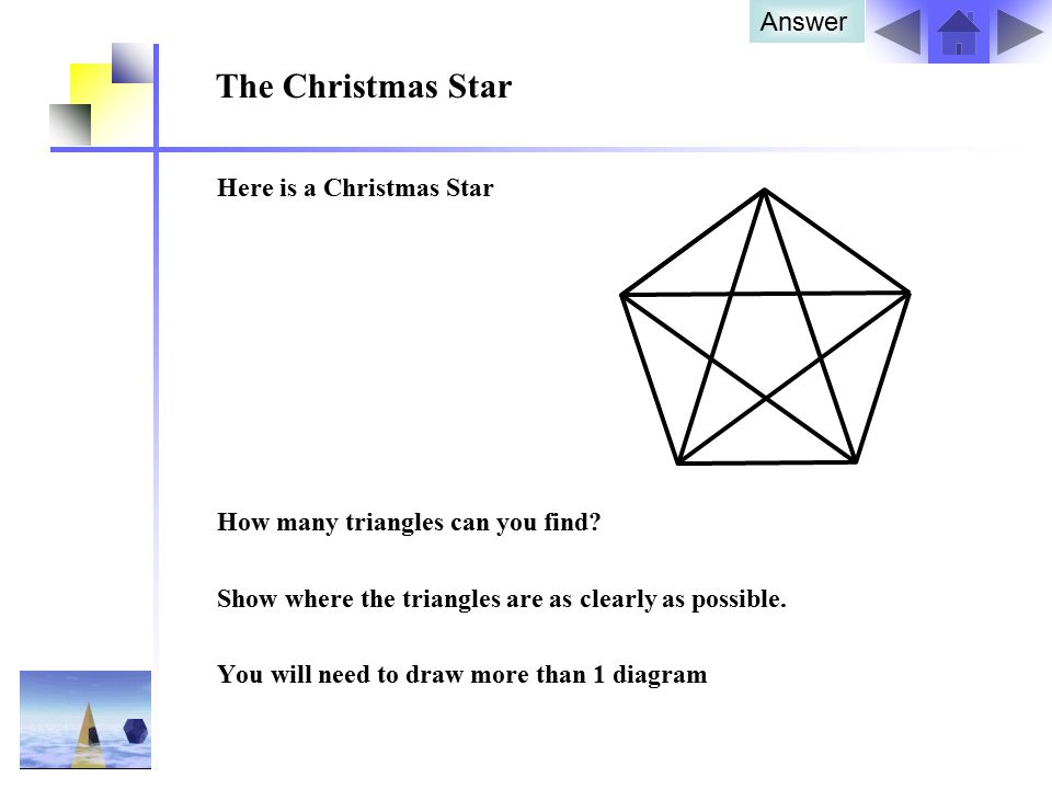 The Christmas Star Answer Here is a Christmas Star