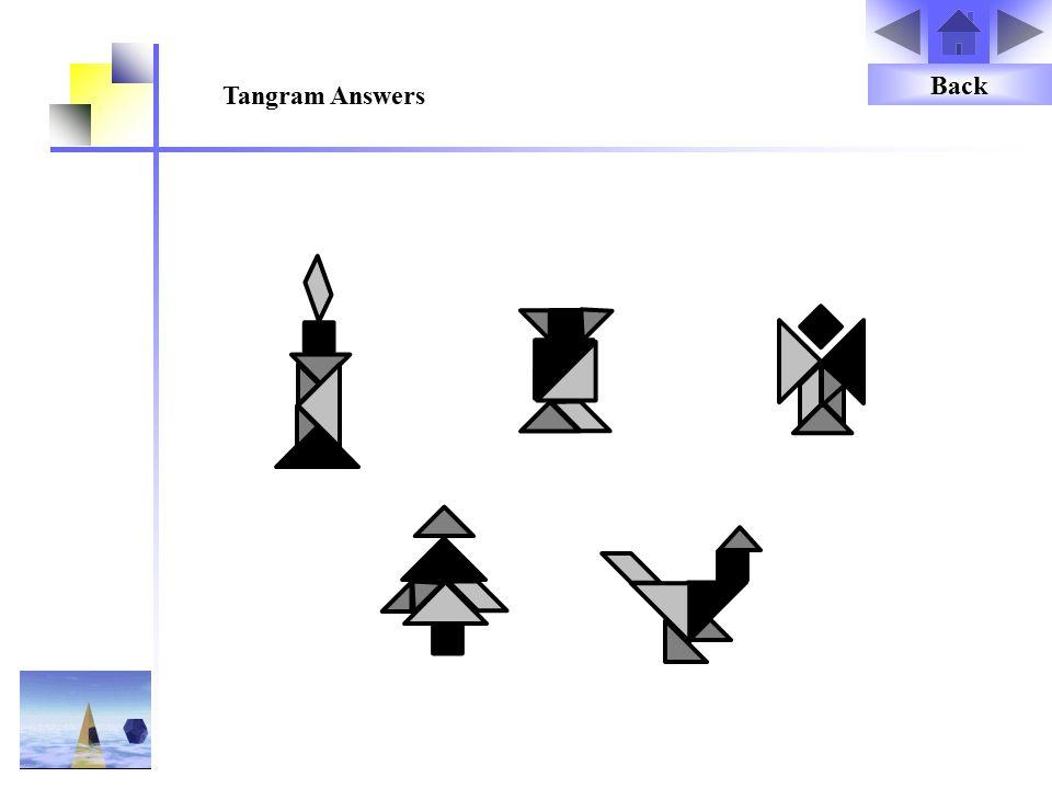 Back Tangram Answers