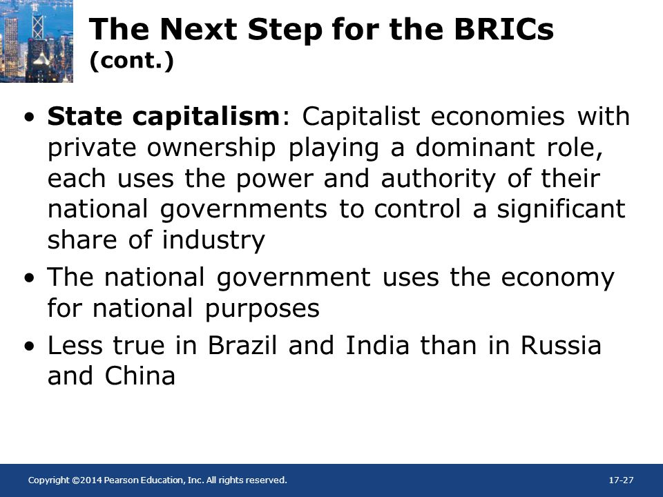 The Next Step for the BRICs (cont.)