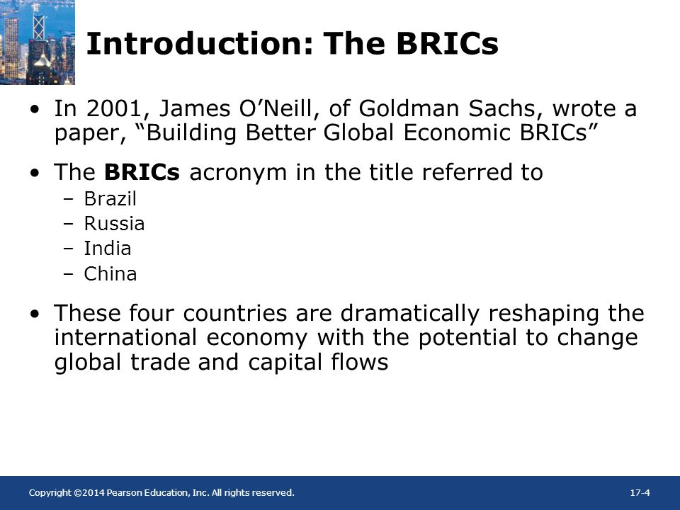 Introduction: The BRICs