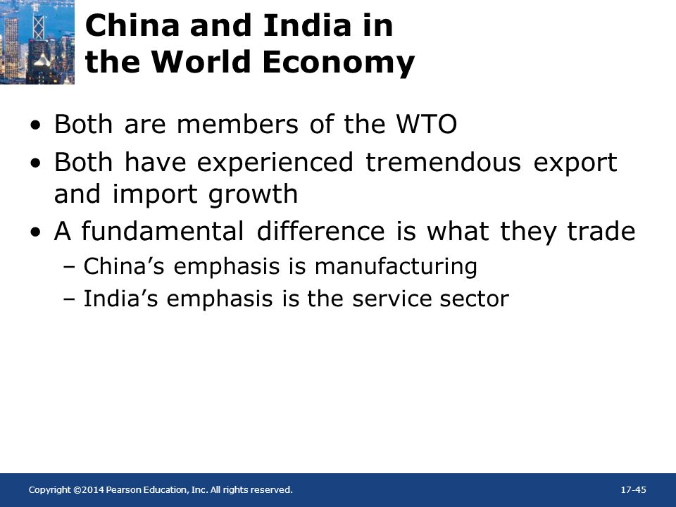 China and India in the World Economy