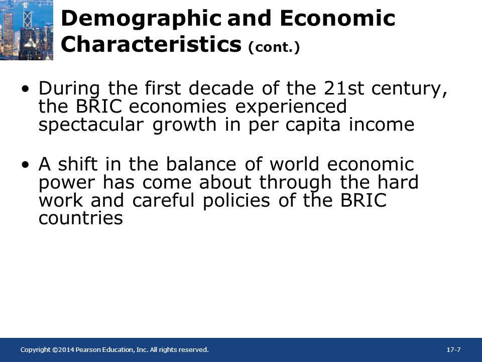 Demographic and Economic Characteristics (cont.)