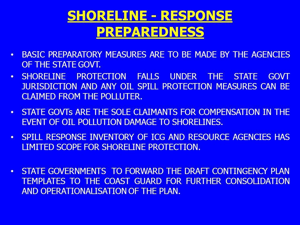 SHORELINE - RESPONSE PREPAREDNESS
