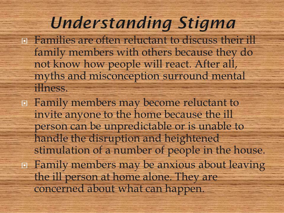 Understanding Stigma