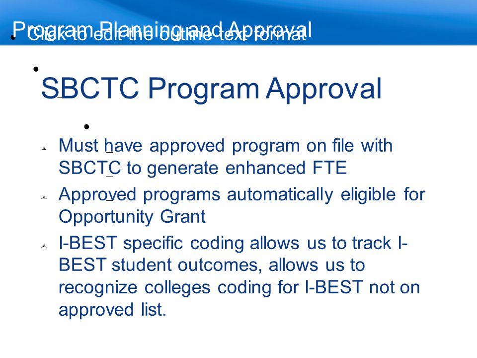 SBCTC Program Approval