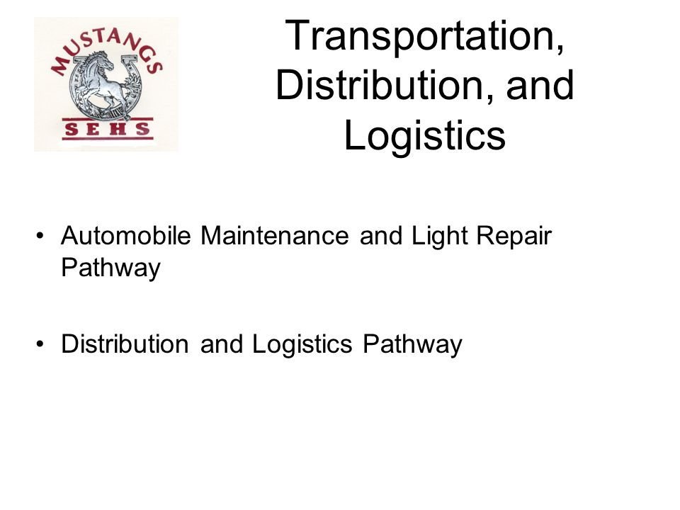 Transportation, Distribution, and Logistics