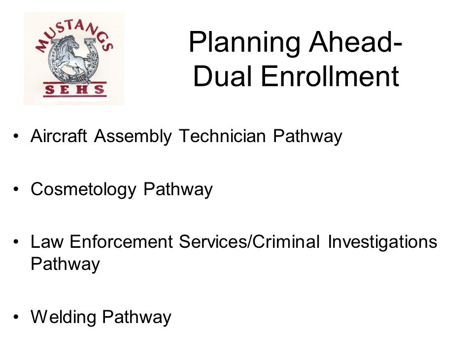 Planning Ahead- Dual Enrollment