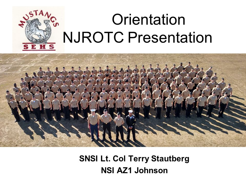 Orientation NJROTC Presentation