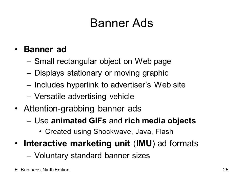 Banner Ads Banner ad Attention-grabbing banner ads