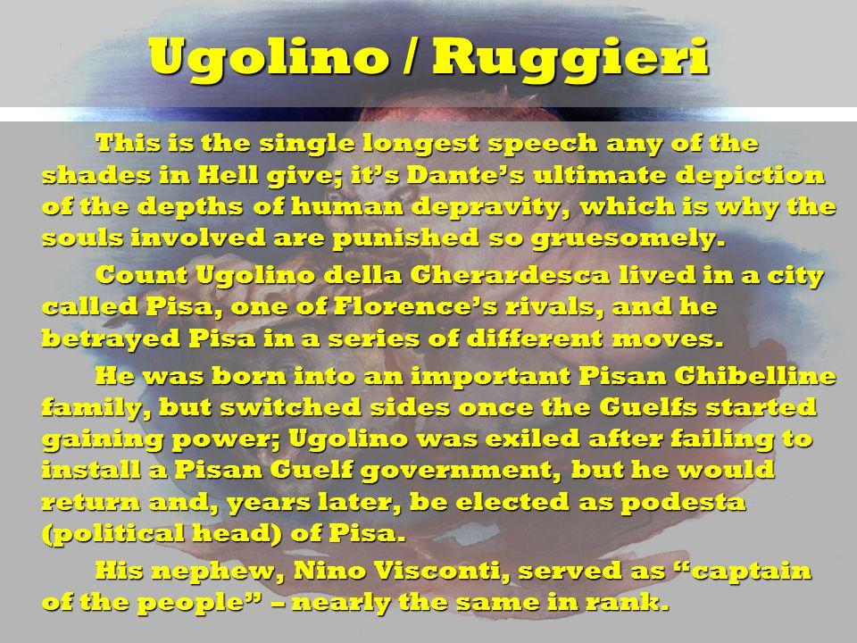 Ugolino / Ruggieri