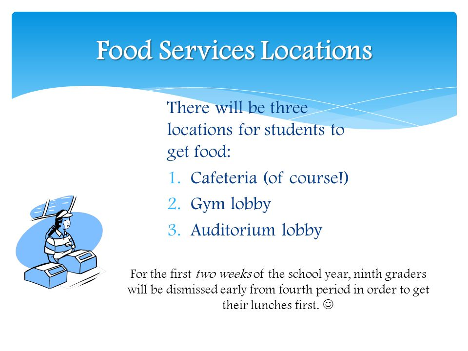 Food Services Locations