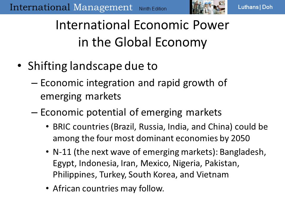 International Economic Power in the Global Economy