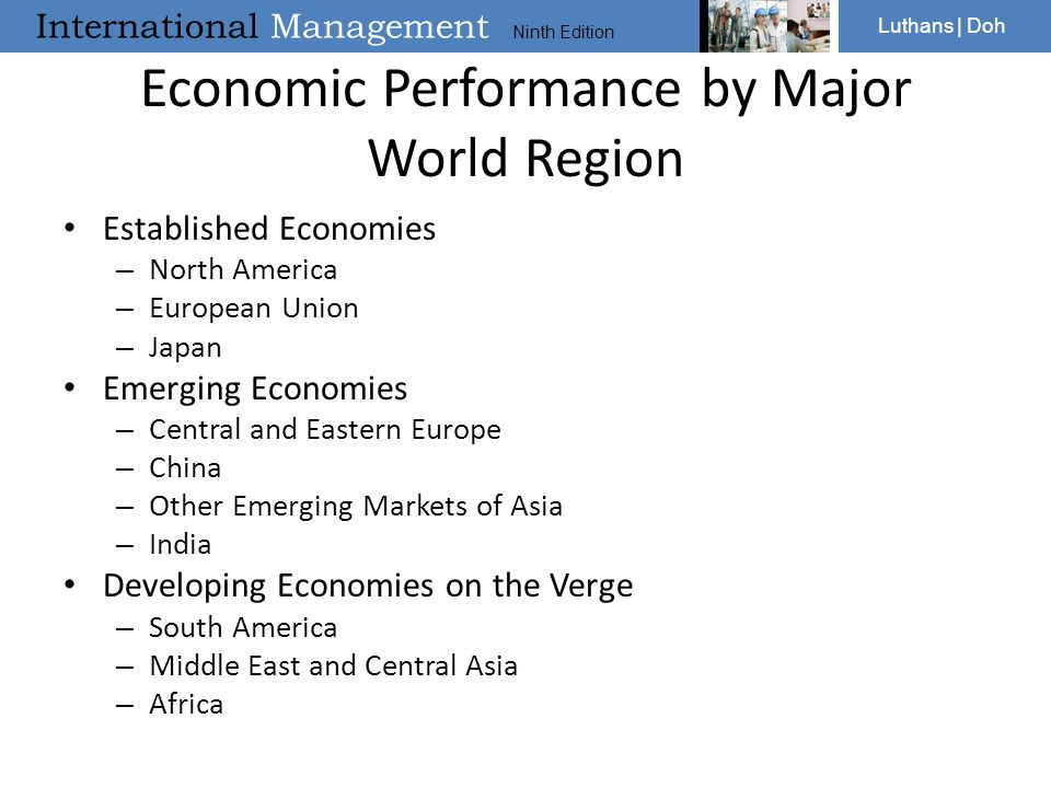 Economic Performance by Major World Region