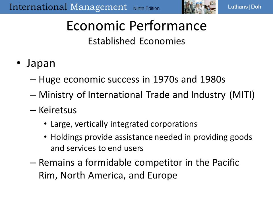 Economic Performance Established Economies
