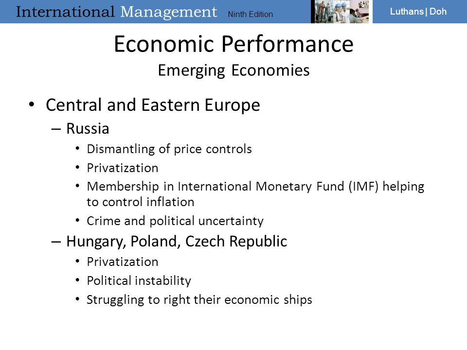 Economic Performance Emerging Economies
