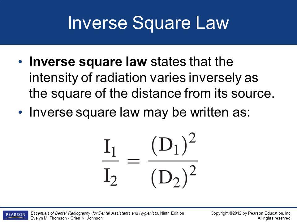 the inverse square law essay