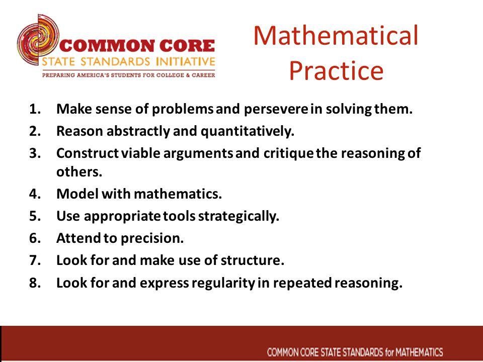 Mathematical Practice