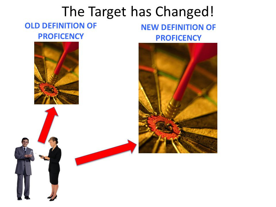 OLD DEFINITION OF PROFICENCY NEW DEFINITION OF PROFICENCY