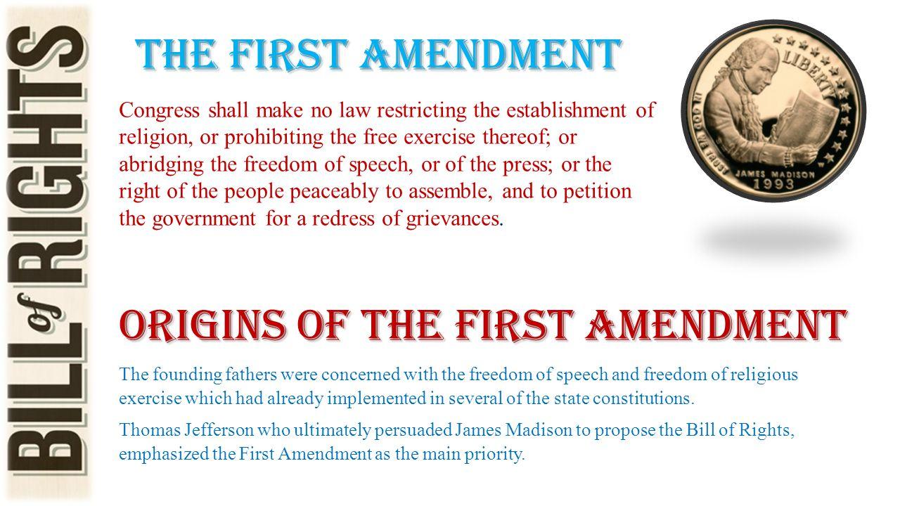 Origins of the First Amendment