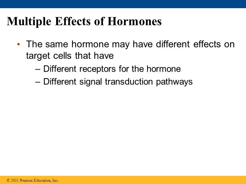 Multiple Effects of Hormones