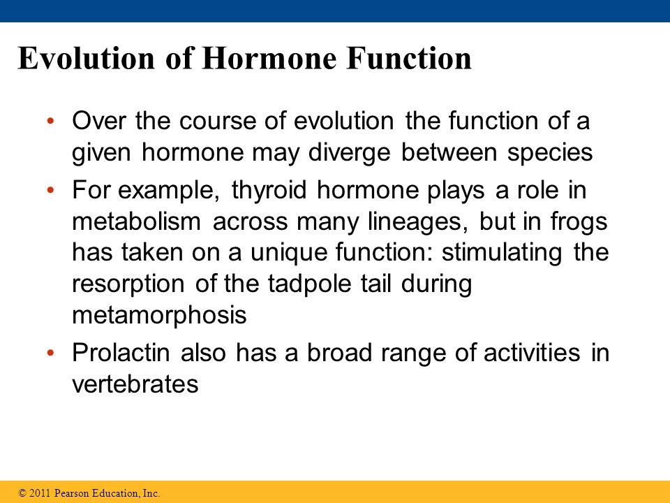 Evolution of Hormone Function