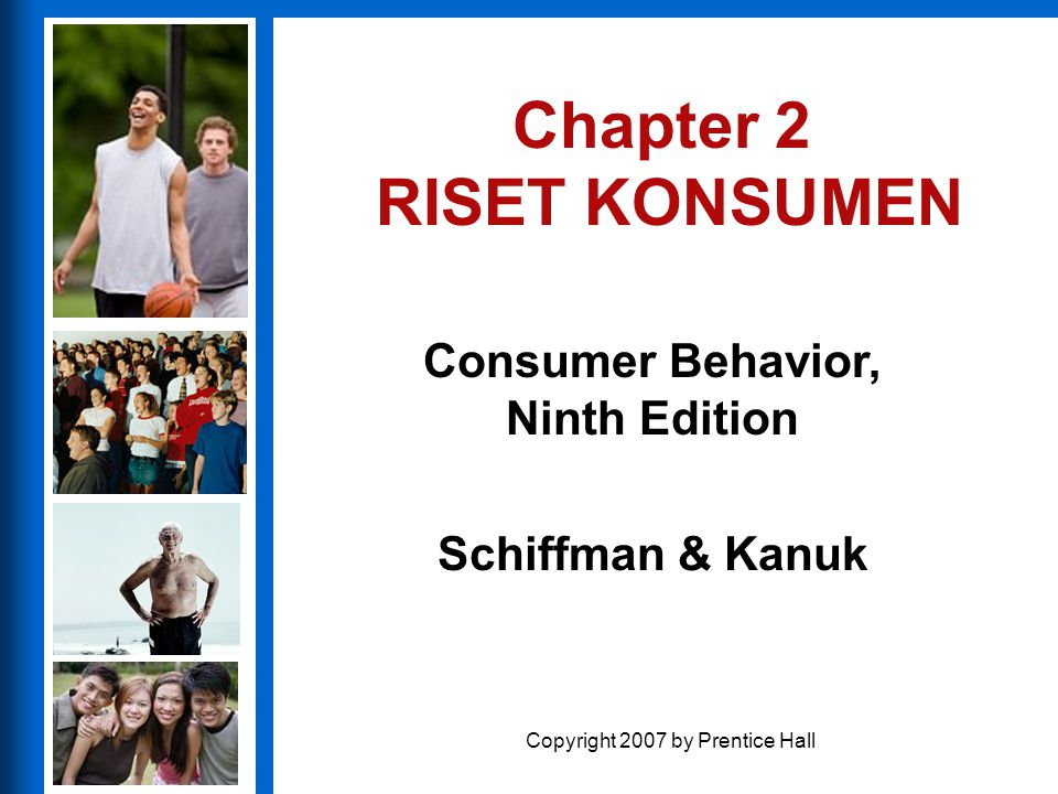 Chapter 2 RISET KONSUMEN