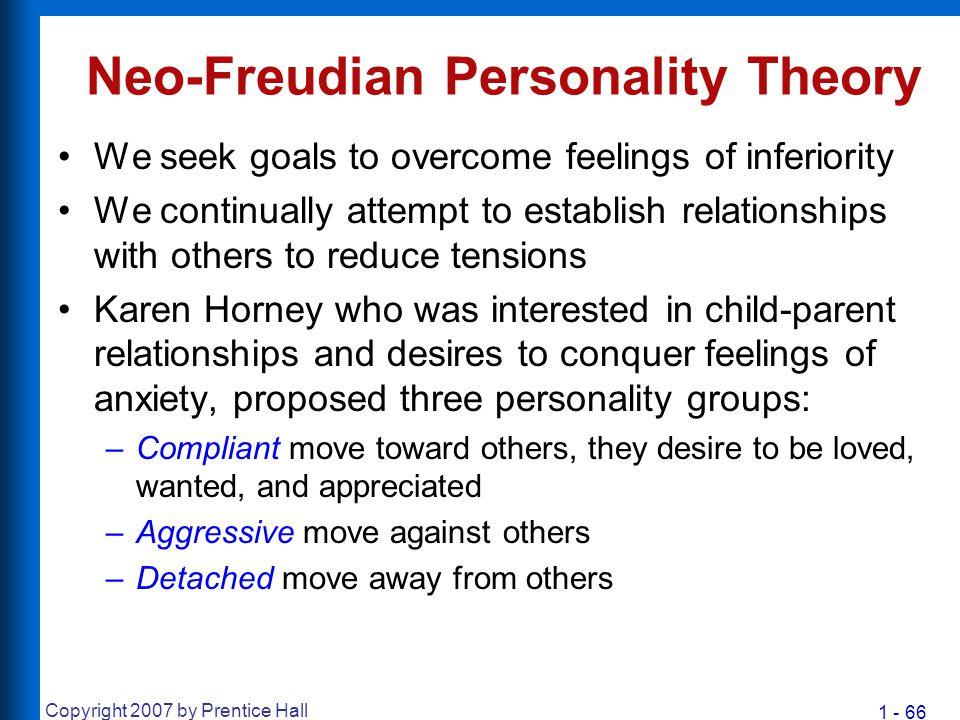 Neo-Freudian Personality Theory