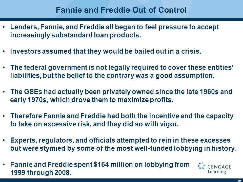 Fannie and Freddie Out of Control