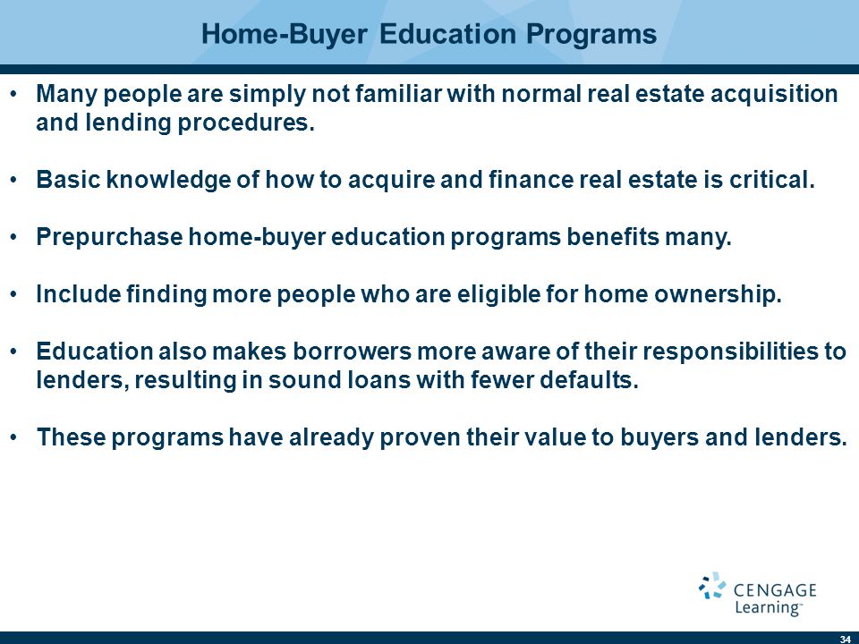 Home-Buyer Education Programs