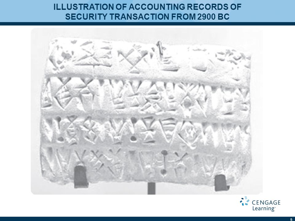 ILLUSTRATION OF ACCOUNTING RECORDS OF