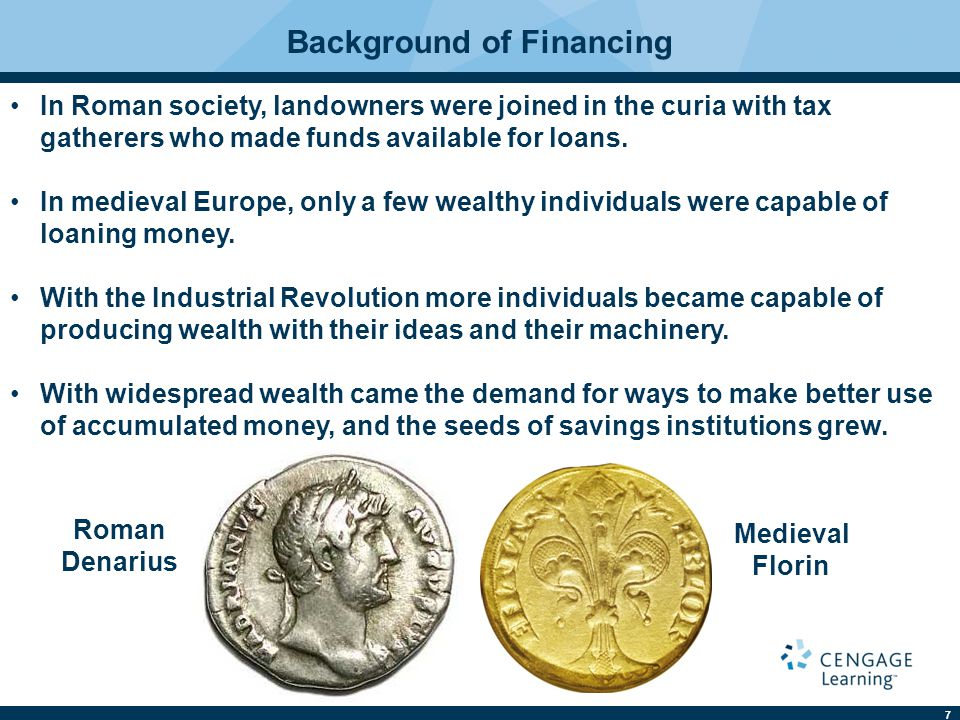 Background of Financing