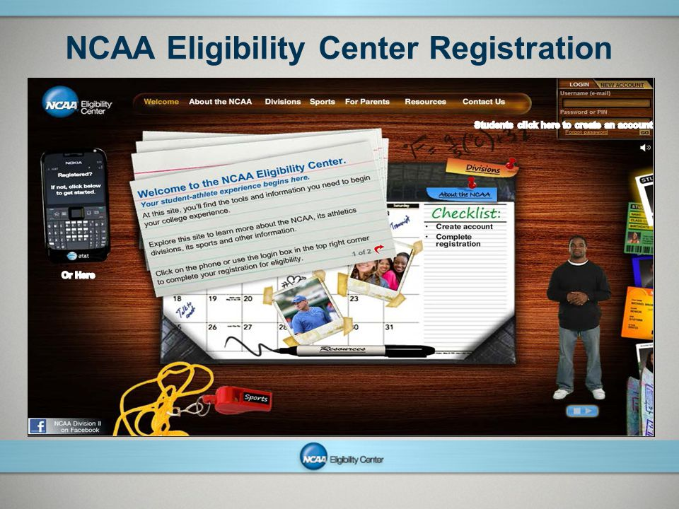 NCAA Eligibility Center Registration
