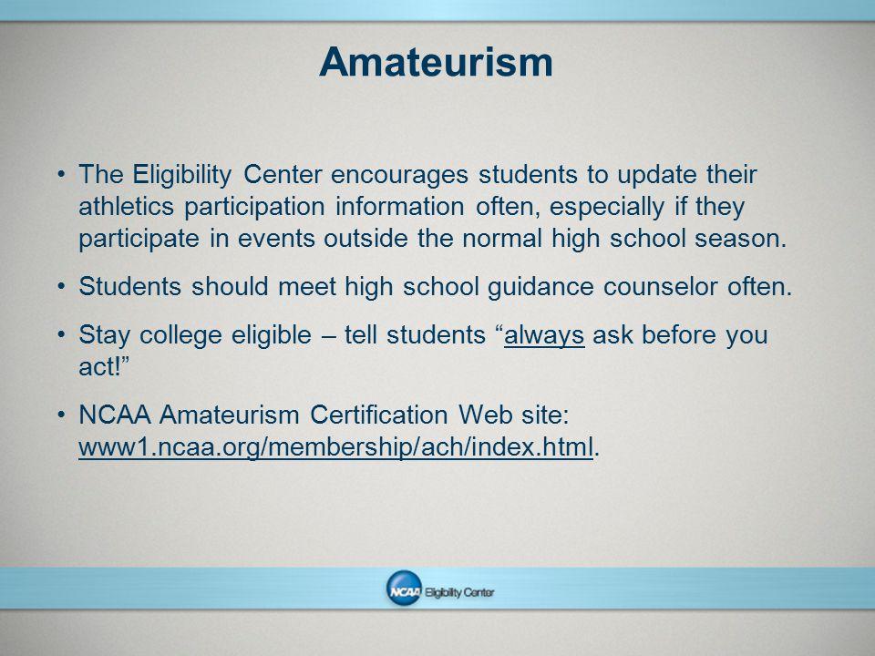 Amateurism