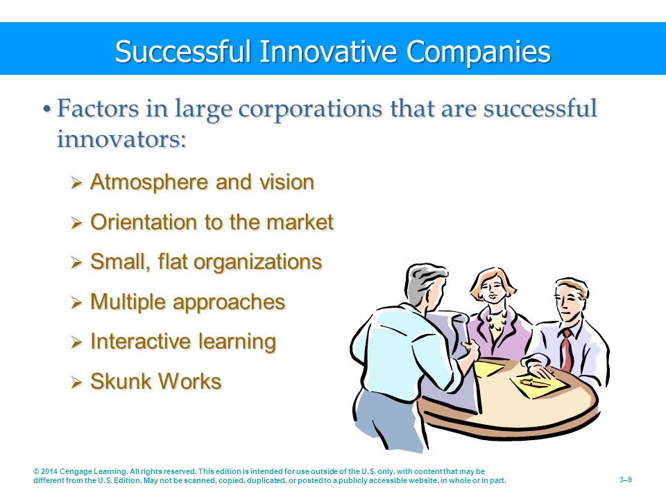 Successful Innovative Companies