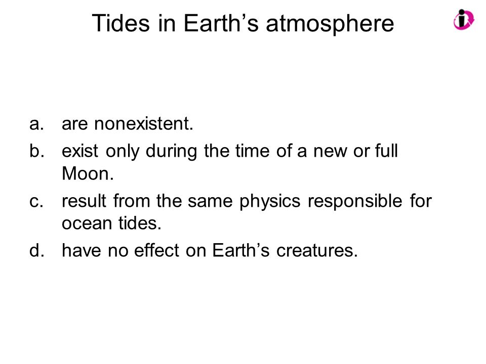 Tides in Earth's atmosphere