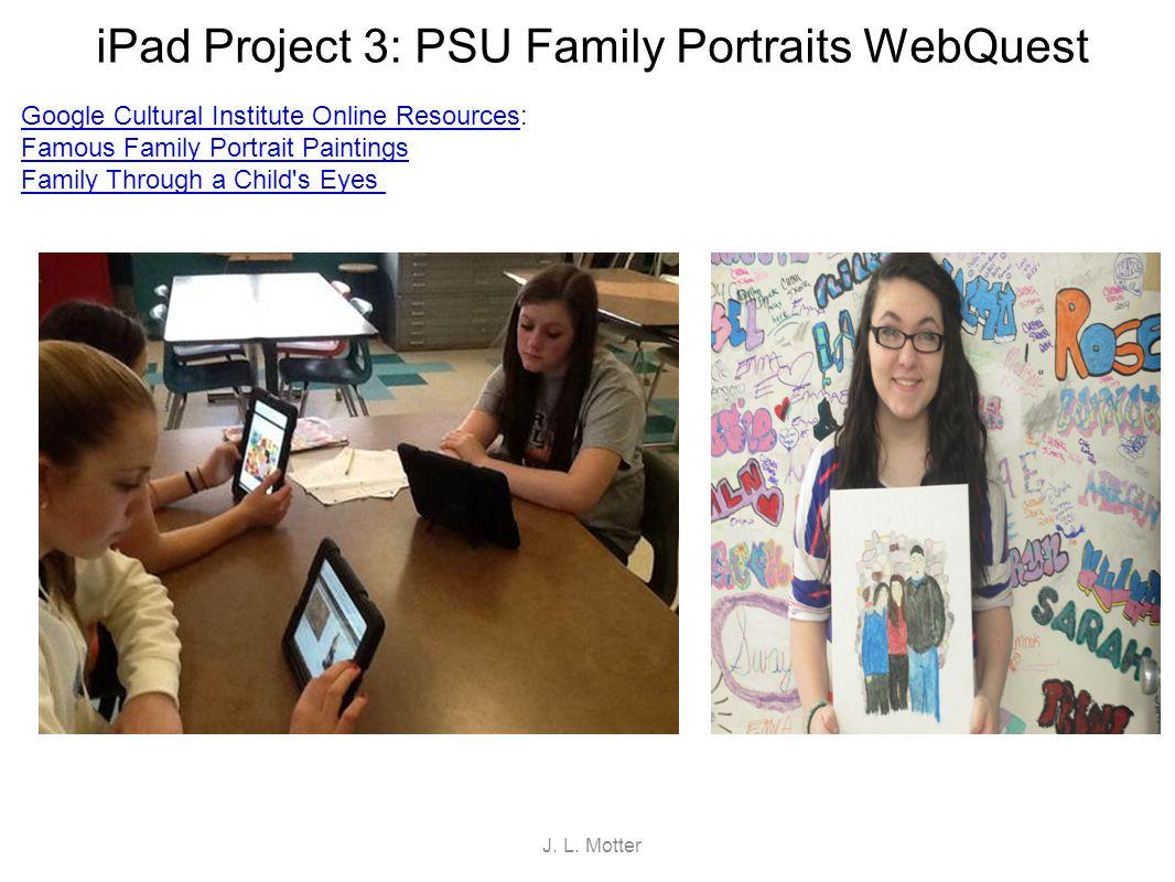 iPad Project 4: PSU Dreamcatcher WebQuest