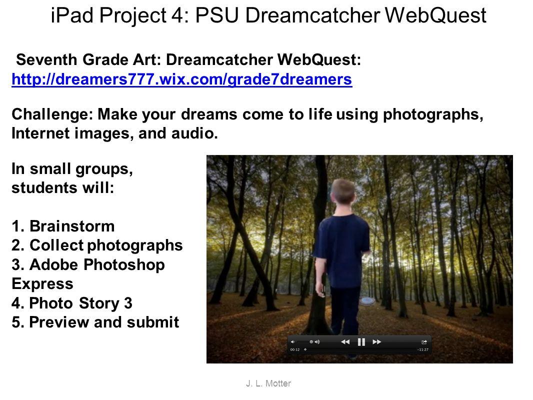 iPad Project 5: Sculpting Ideals WebQuest